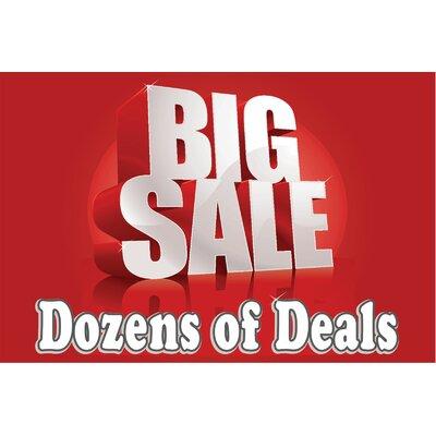 Deals Deals Banner Size: 24 H x 36 W x 0.18 D