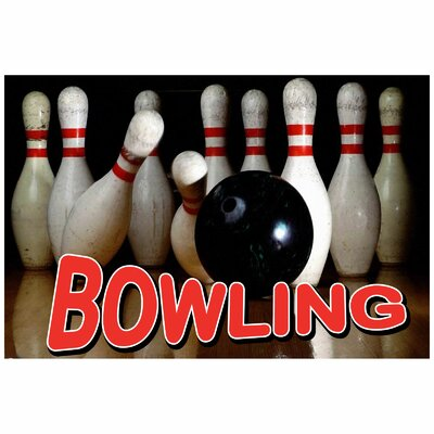 Bowling Banner Size: 24