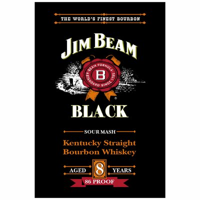 Jim Beam Vertical Banner Size: 24
