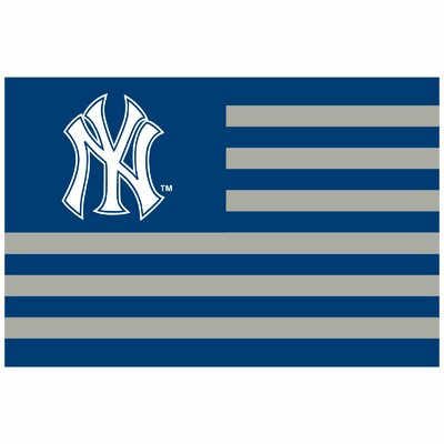 New York Yankees Banner Size: 24 H x 36 W x 0.18 D