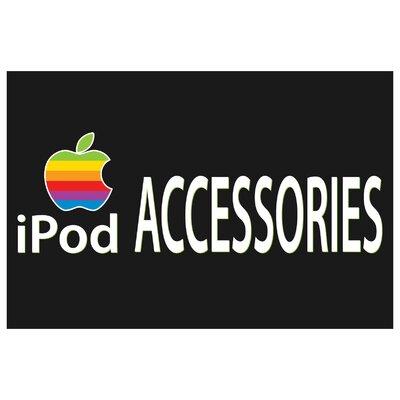 Ipod Banner Size: 24 H x 36 W x 0.18 D