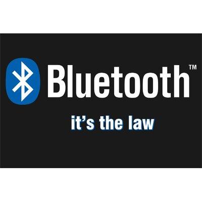 Bluetooth Banner Size: 24 H x 36 W x 0.18 D