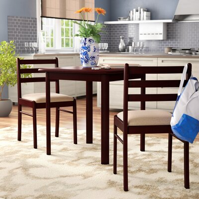 Kinsler 3 Piece Bistro Set Finish: Espresso