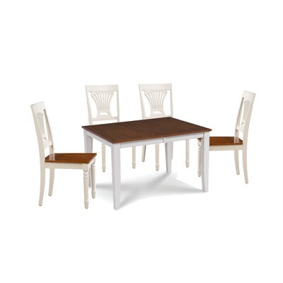 Wahl 5 Piece Extendable Dining Set