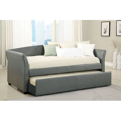 Slocumb Daybed with Trundle Color: Gray