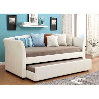 Slocumb Daybed with Trundle Color: White