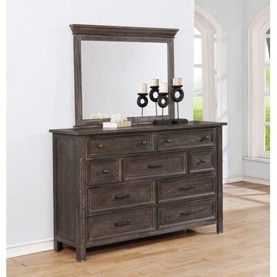 Hamilton 9 Drawer Dresser with Mirror GRCS6586