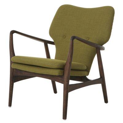 Cutlip Armchair Upholstery: Green