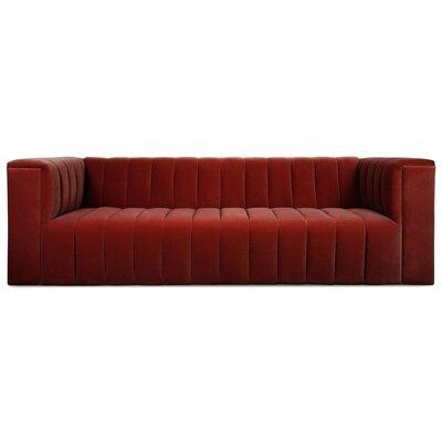 Monaco Sofa Upholstery: Merlot