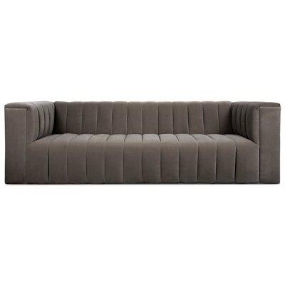 Monaco Sofa Upholstery: Dark Gray