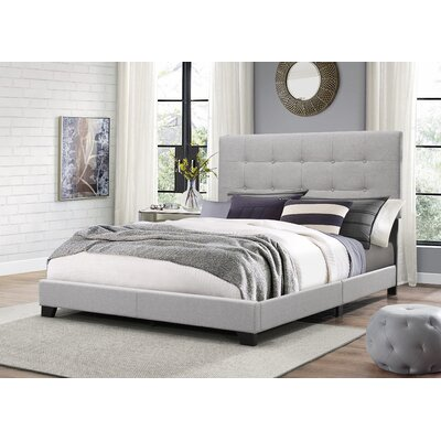 Janicki Upholstered Panel Bed Size: King