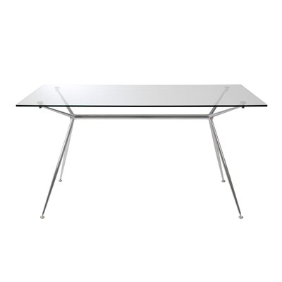 Berndt Dining Table Size: 26.7 H x 66 L x 36 W