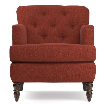 Suzanne Armchair Upholstery: Sangria Red