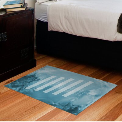 Hurtt Blue Area Rug
