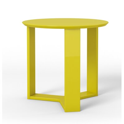 Madison End Table Color: Yellow