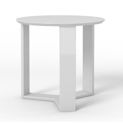 Madison End Table Color: White Gloss