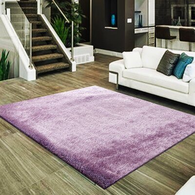 Marcello Hand-Tufted Lavender Area Rug