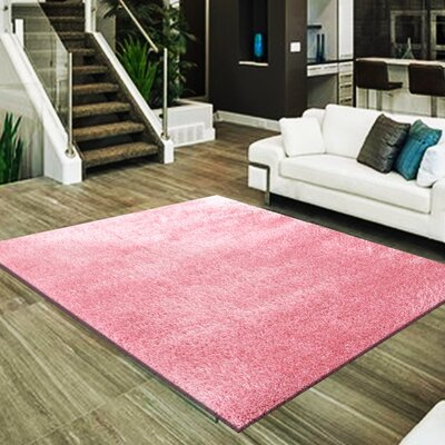 Marcello Hand-Tufted Pink Area Rug