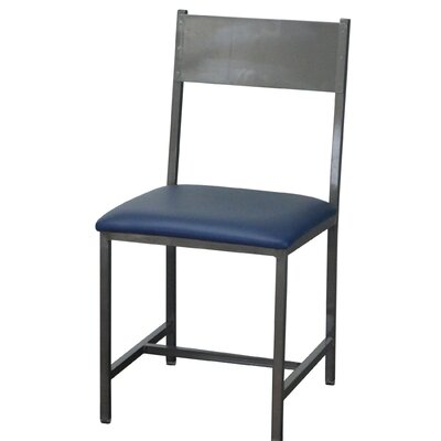 Upholstered Dining Chair Upholstery Color: Blue