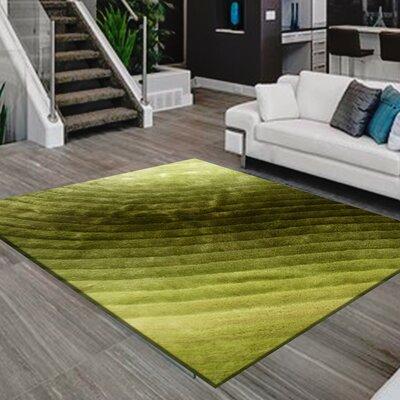 Mcentee Design Hand-Woven Green Area Rug