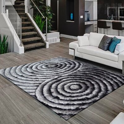 Mcgehee Design Handwoven Gray Area Rug