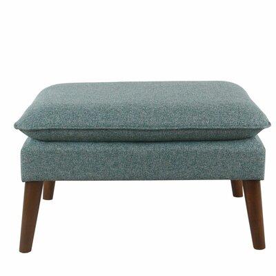 Glamis Medium Ottoman Upholstery: Teal