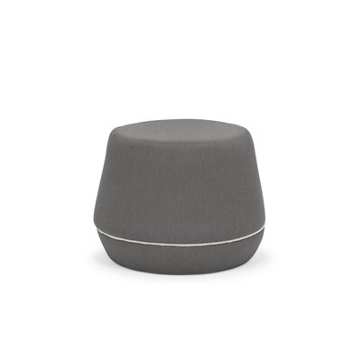Dunnigan Pouf Upholstery: Dark Gray