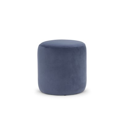 Dunnam Pouf Upholstery: Light Blue