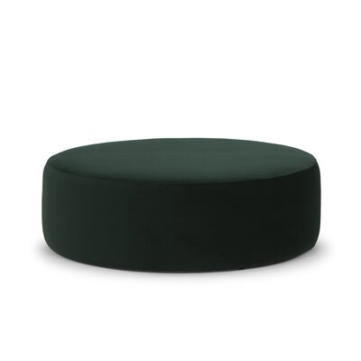 Massingill Pouf Upholstery: Brown