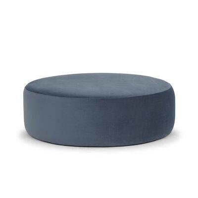 Craighead Pouf Upholstery: Blue Velvet