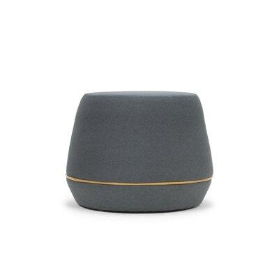 Meleze Pouf Upholstery: Dark Gray Velvet