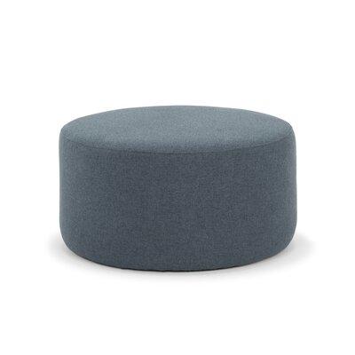 Cragin Pouf Upholstery: Dust Blue Velvet