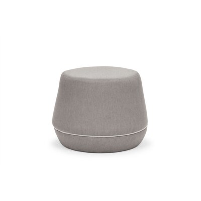 Dunnigan Pouf Upholstery: Light Gray