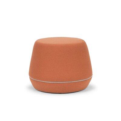 Meleze Pouf Upholstery: Rust Velvet