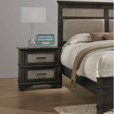 Hunter 2 Drawer Nightstand