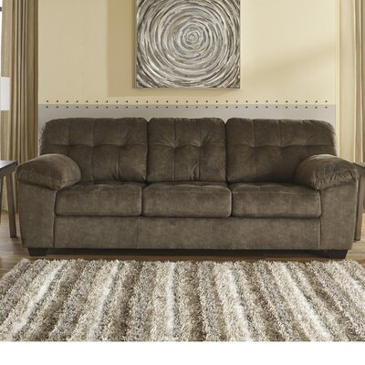 Mccreery Sofa Upholstery: Brown