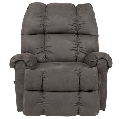 Eberly Manual Rocker Recliner Upholstery: Graphite