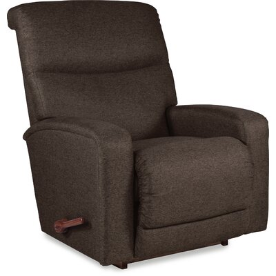 Levi Manual Rocker Recliner Upholstery: Chocolate