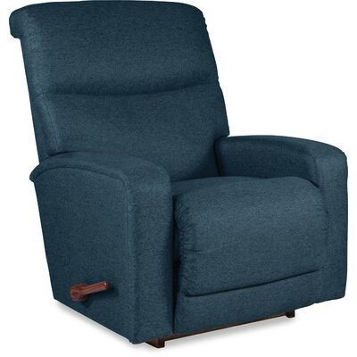 Levi Manual Rocker Recliner Upholstery: Navy