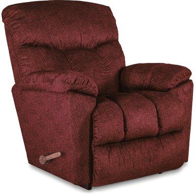 Morrison Manual Rocker Recliner Upholstery: Burgundy