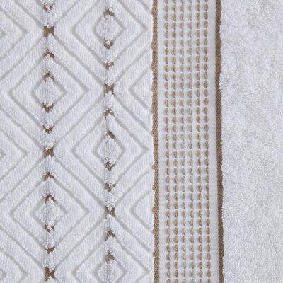 6 Piece Towel Set Color: Tan