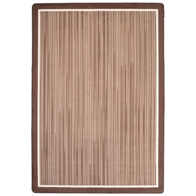 Maldanado Night Rhythm Sepia Tan Area Rug Rug Size: Rectange 54 x 78