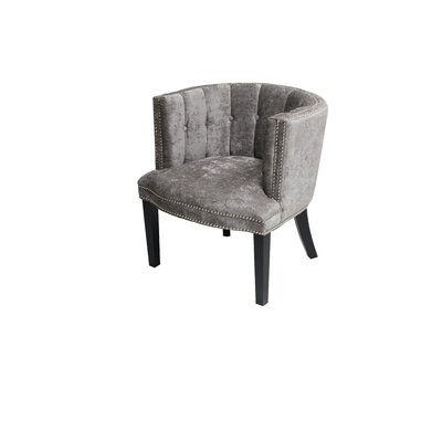 Holzer Barrel Chair Upholstery: Platinum