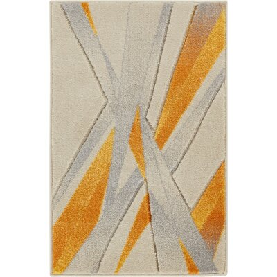 Herring Yellow Area Rug Rug Size: Rectangle 2 x 3