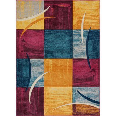 Herring Area Rug Rug Size: Rectangle 710 x 910