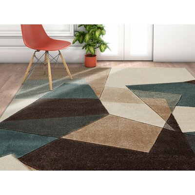 Herring Power Area Rug Rug Size: Runner 2 x 7