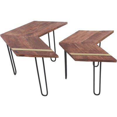 Rainer 2 Piece Nesting Tables
