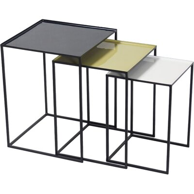 Steam Plant 3 Piece Nesting Tables