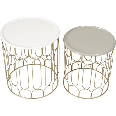 Stearns 2 Piece Nesting Tables