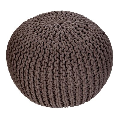 Emory Pouf Upholstery: Dark Taupe